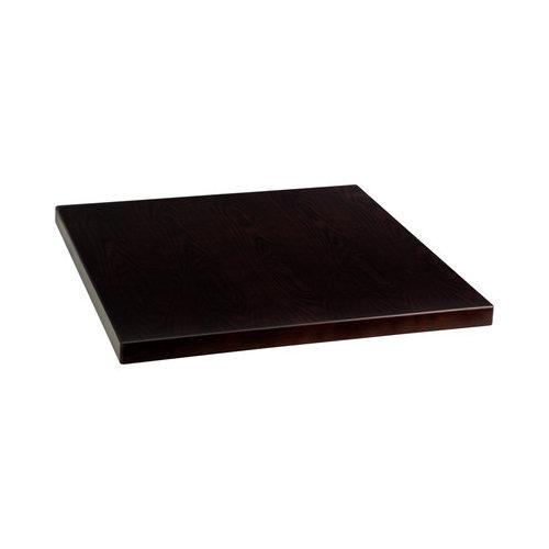 24u0027u0027 Square Walnut Veneer Table Top