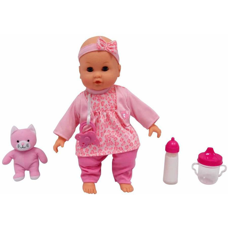 """MSL 14"""" Baby Maggie Doll, Cat (Item May Vary)"""