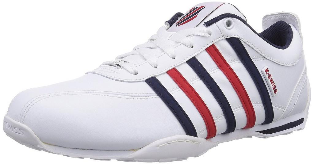 K-Swiss Arvee 1.5 Men's White Corporate Sneaker 9M by K-Swiss