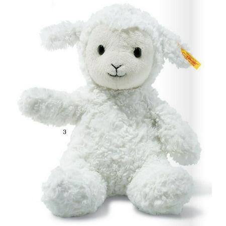 Fuzzy Lamb White 12 inch - Stuffed Animal by Steiff (073410) - Fuzzy Animals