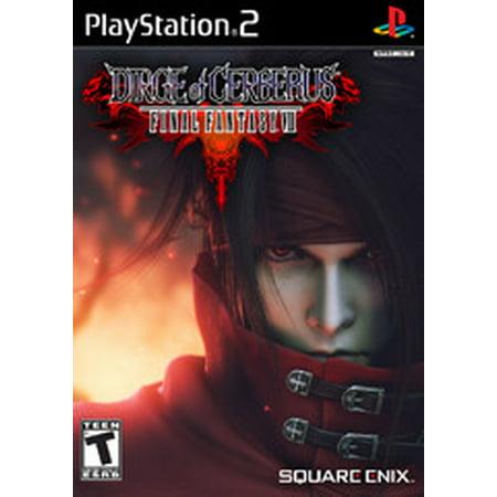 Final Fantasy VII Dirge of Cerberus - PS2 Playstation 2 (Dirge Of Cerberus Final Fantasy Vii Pc)