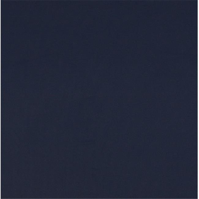 Designer Fabrics B476 54 in. Wide Navy, Solid Indoor & Outdoor Marine Duck Scotchgard Upholstery Fabric