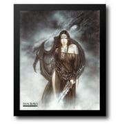 FrameToWall - Dragon Spirit 20x24 Framed Art Print by Royo, Luis