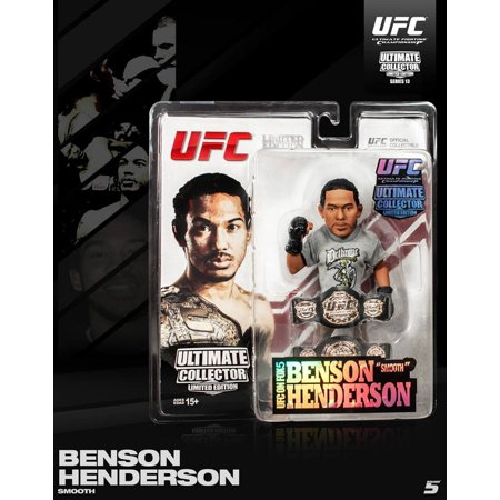 Round 5 UFC Ben Henderson Limited Edition Action Figure - 500 Made