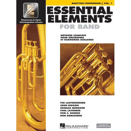 Essential Elements for Band Avec Eei : Vol. 1 - Baryton/Euphonium (Treble Clef) for $<!---->