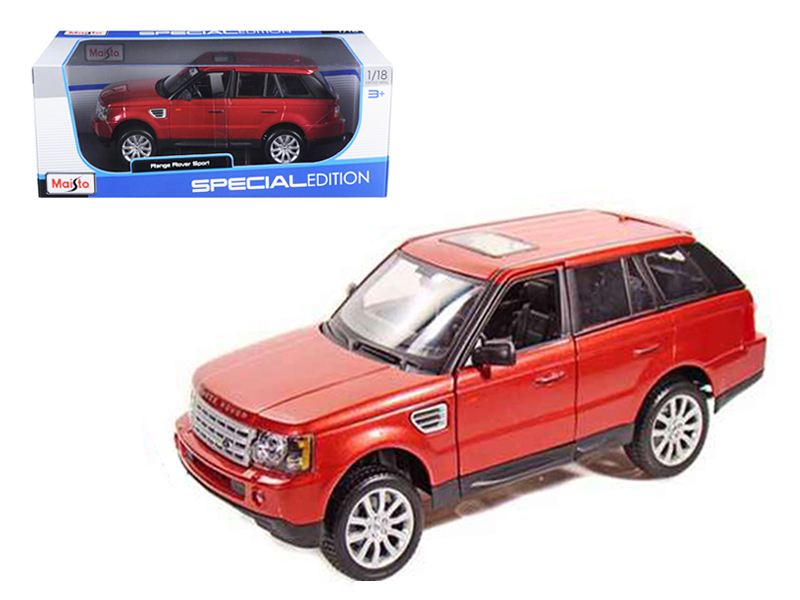 Range Rover Sport Metallic Red 1 18 Diecast Model Car by Maisto by Diecast Dropshipper