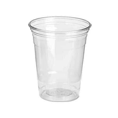 Dixie Clear Plastic Pete Cups, Cold, 12 Oz, Wisesize Packs DIXCP12DX