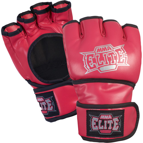 MMA Elite Pro Style Open Palm Glove, Pink