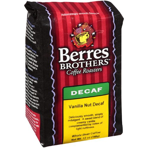 Berres Brothers Coffee Roasters Vanilla Nut Decaf Coffee Beans, 12 oz