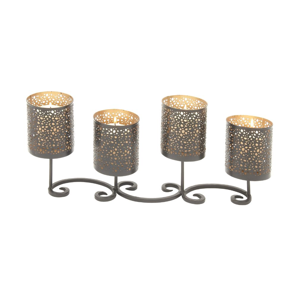 Fashionable Metal Candle Holder