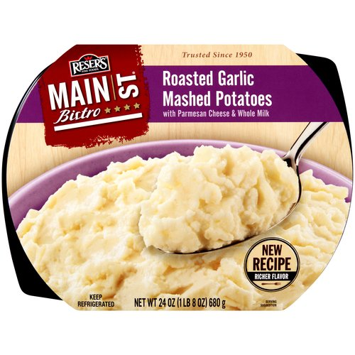 Reser's Fine Foods Main S. Bistro Roasted Garlic Mashed Potatoes, 24 oz