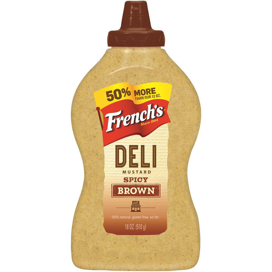 French's Spicy Brown Mustard, 18 oz