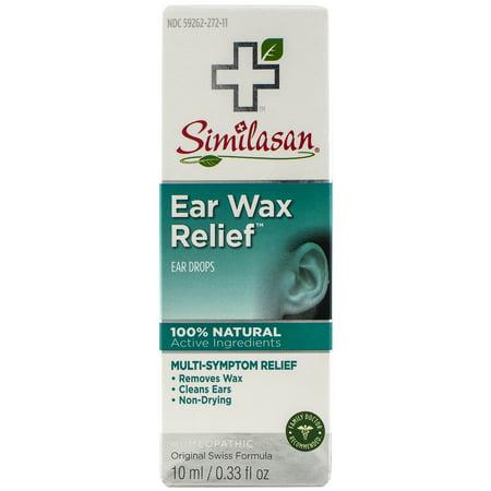 Ear Relief Wash - Similasan Ear Wax Relief Drops, 0.33 fl. oz.