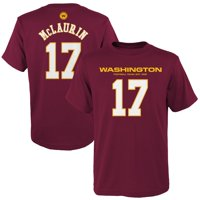 Terry McLaurin Washington Football Team Youth Mainliner Player Name & Number T-Shirt - Burgundy