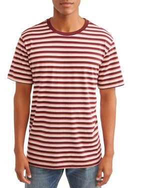 2c0015ff Product Image George Men's Short Sleeve Striped Crew Neck T-Shirt