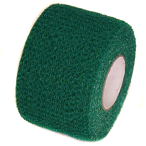 Green Cohesive Soft Grip Tape 1-1/2 inch x 5 yards