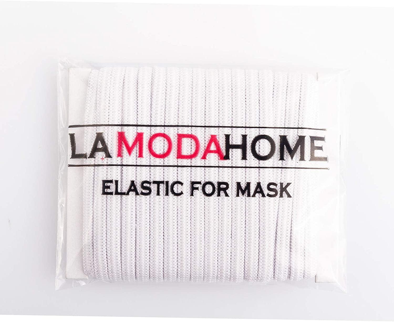 1//4 Trim Spandex Make mask String 80 Yards Elastic Band for DIY Mask