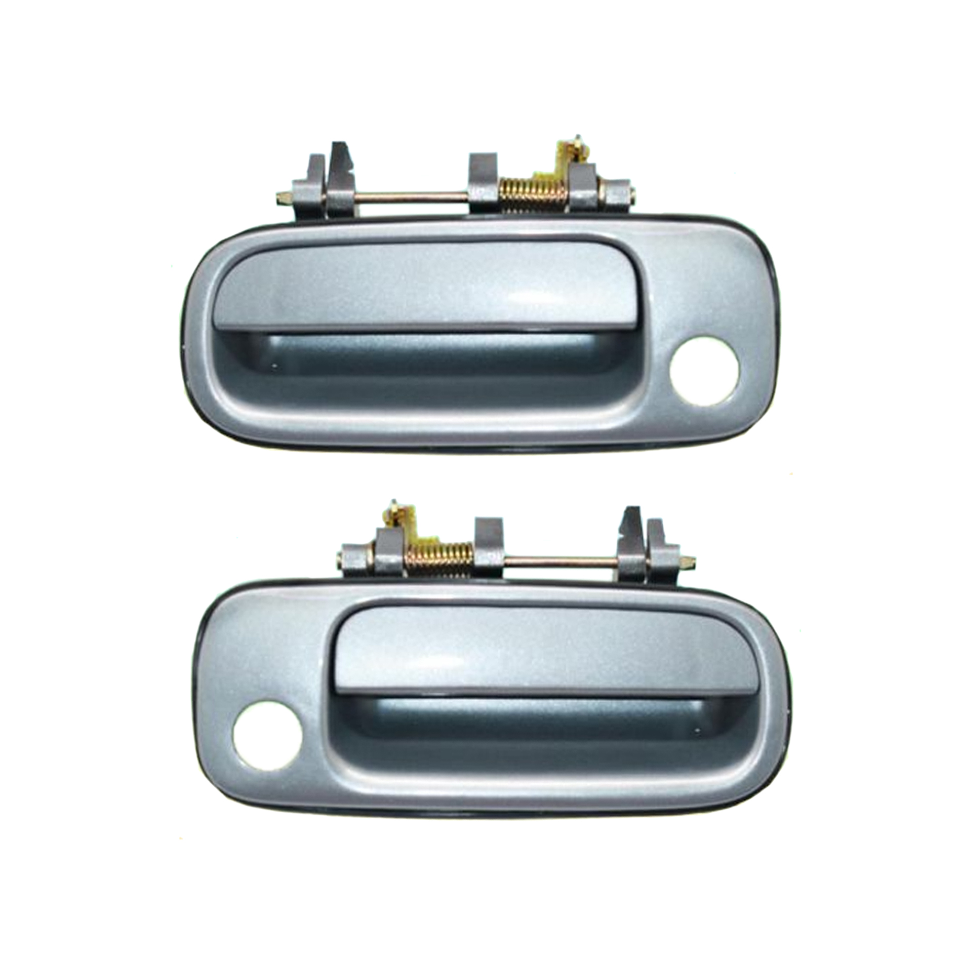 Brand New For 1992-1996 Toyota Camry Blue 1A0 Outside Door Handle Front Right Passenger Side and Left 92 93 94 95 96
