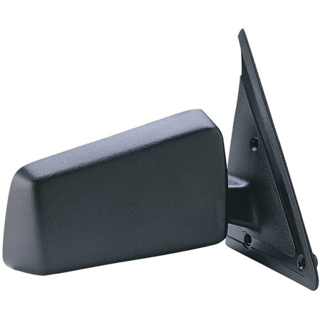 62001G - Fit System Passenger Side Mirror for 85-93 Chevy S10 Blazer, S10 P-U, GMC S15 Jimmy, S15 P-U, Sonoma P-U, Olds. Bravada, black, non-foldaway, Manual