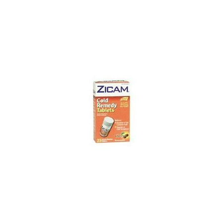 Zicam Cold Remedy Quick Dissolve Homeopathic Tablets Cherry 25
