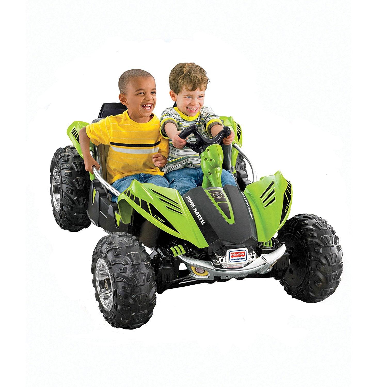 Fisher Price Power Wheels Green Dune Racer