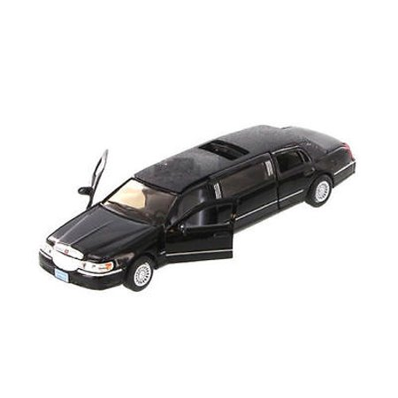 Lincoln Town Car Signature Limited (Kinsmart 1999 Lincoln Town Car Stretch Limousine Limo 1:38 Diecast Model)