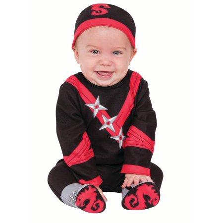 Baby Boo Costume (Boys Infant Todder Baby Ninja)