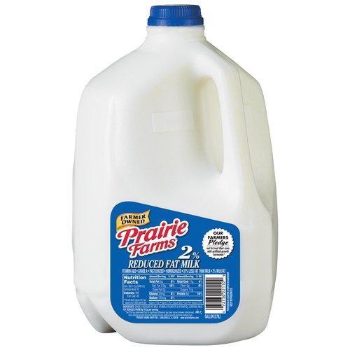Prairie Farms 2% Reduced Fat Milk, 1 gal