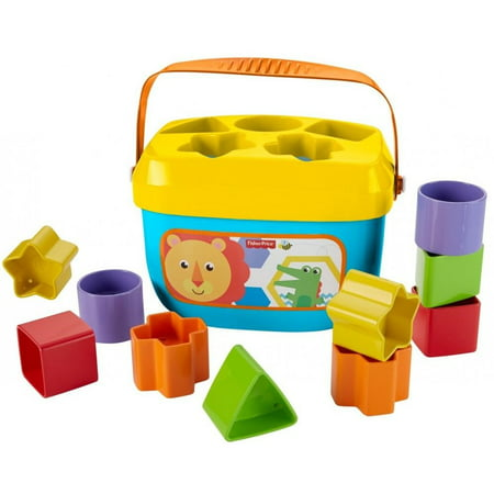 Filled Baby Blocks - Fisher-Price Baby's First Blocks with Storage Bucket