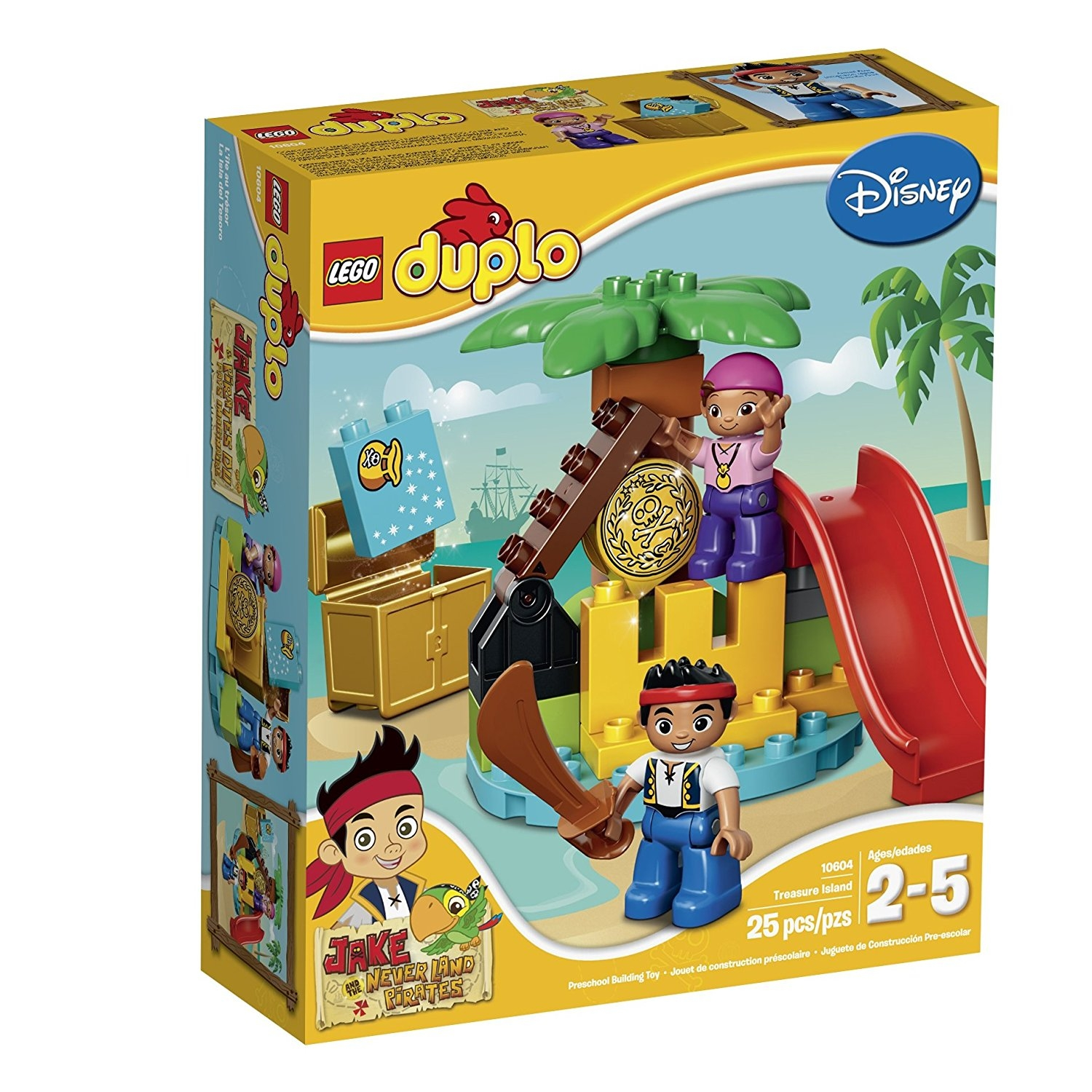 Lego DUPLO Jake 10604 Jake and the Never Land Pirates Tre...