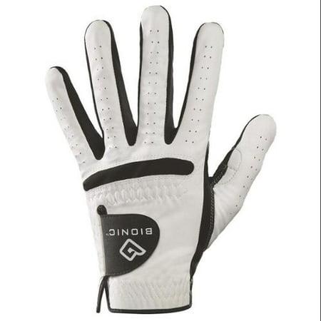 Bionic Men's Cadet RelaxGrip Black Palm Left Handed Golf Glove - Large
