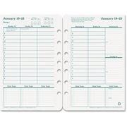 """FranklinCovey Original Dated Weekly/monthly Planner Refill, Jan.-Dec., 5-1/2"""" X 8-1/2"""", 2016"""