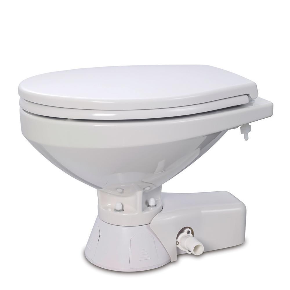 Jabsco Quiet Flush Freshwater Toilet - Compact Bowl - 12V - image 1 de 1