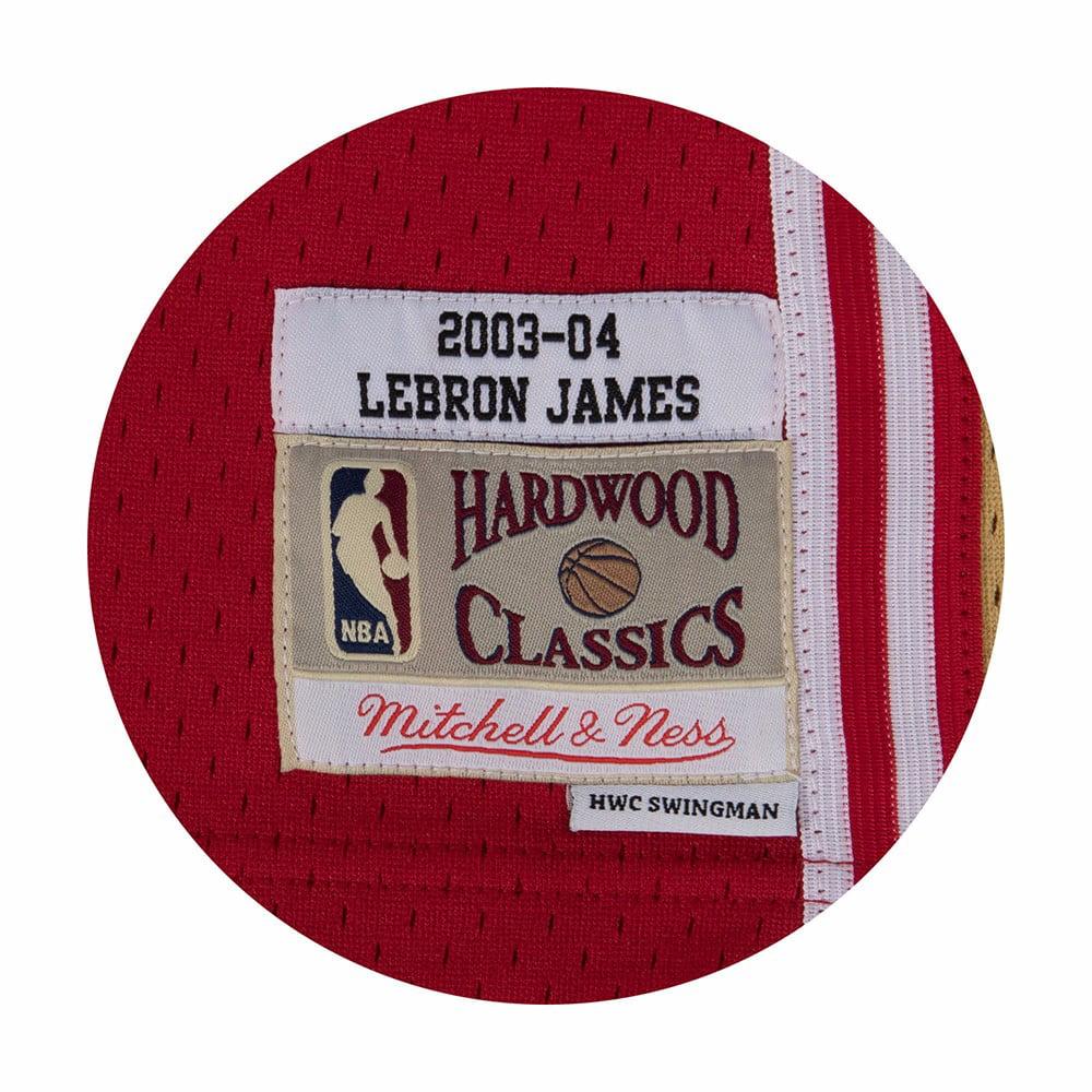 LeBron James Cleveland Cavaliers Mitchell   Ness 2003-04 Hardwood Classics  Swingman Jersey - Wine - Walmart.com 280ff6d32