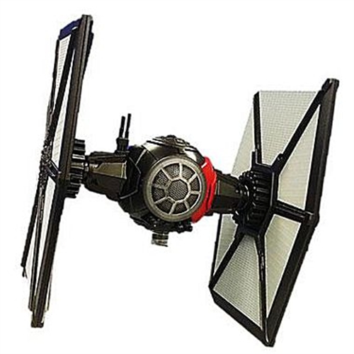 eKids - iHome Star Wars Special Forces TIE Fighter Li-B56E7 Portable Speaker - Gray/black/red