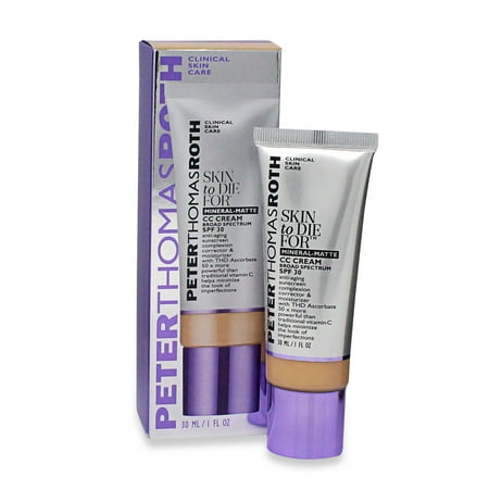 Peter Thomas Roth Skin To Die for Mineral Matte Skin Perfecting CC Cream Light 1 (Best Cc For Balance Transfers)