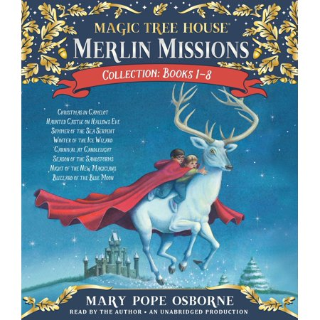 Merlin Missions Collection: Books 1-8 : Christmas in Camelot; Haunted Castle on Hallows Eve; Summer of the Sea Serpent; Winter of the Ice Wizard; Carnival at Candlelight; and more