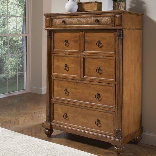 Braxton Culler Island Manor 7 Drawer Chest with Mirror