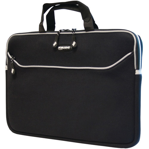 "Mobile Edge MESS1-16 SlipSuit 15.6"" Laptop Sleeve, Black"