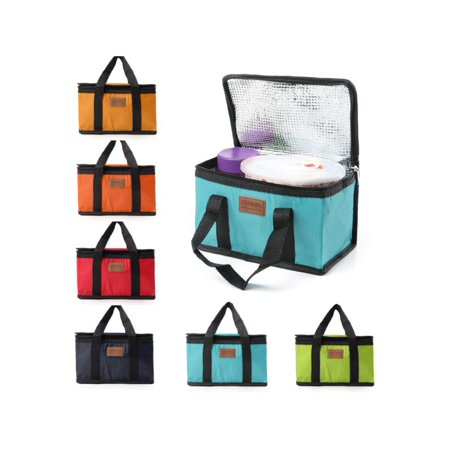 Unbranded Lunch Bag Portable Waterproof Thermal Cooler Insulated Lunch Box Storage Picnic Bag Pouch ()