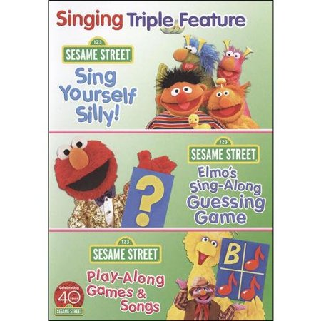 Sesame Street  Sing And Play Triple Feature Pack  Full Frame