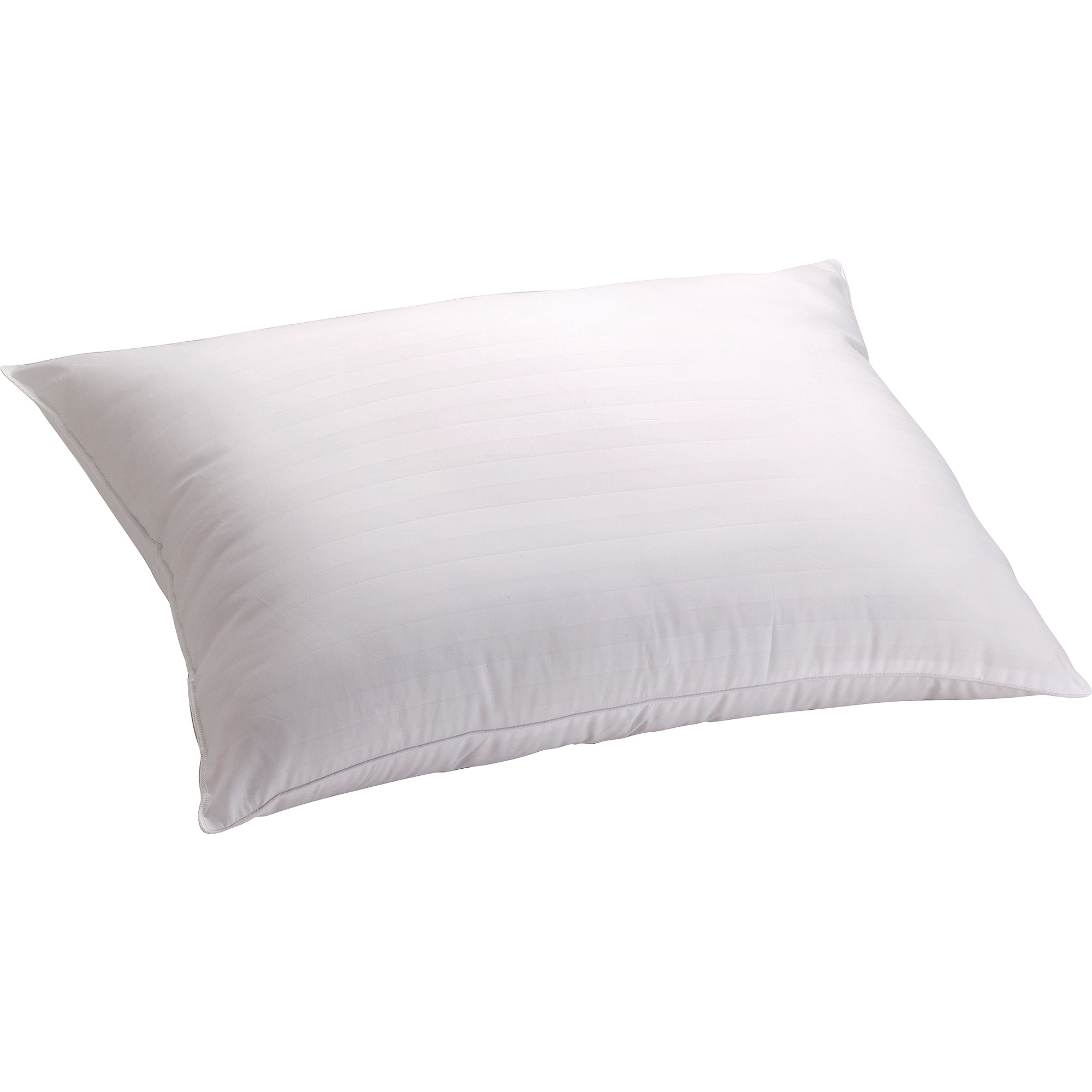 mainstays 100 cotton striped zippered pillow protector
