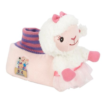Disney Toddler Girls Doc McStuffins Lambie Slippers Lamb House Shoes - Doc Mcstuffin Shoes For Toddlers