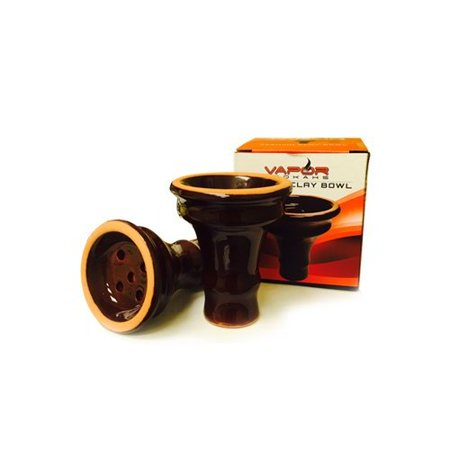 VAPOR HOOKAHS MEDIUM EGYPTIAN STYLE CLAY BOWL: SUPPLIES FOR HOOKAHS –Hookah bowl is an accessory for shisha pipes. Bowl accessories, pieces, and parts are glazed and hold 20g of (Best Electronic Hookah Bowl)