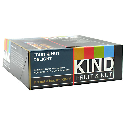 KIND Bars, Fruit & Nut Delight, Gluten Free, 1.4 Ounce Bars, 12 Count