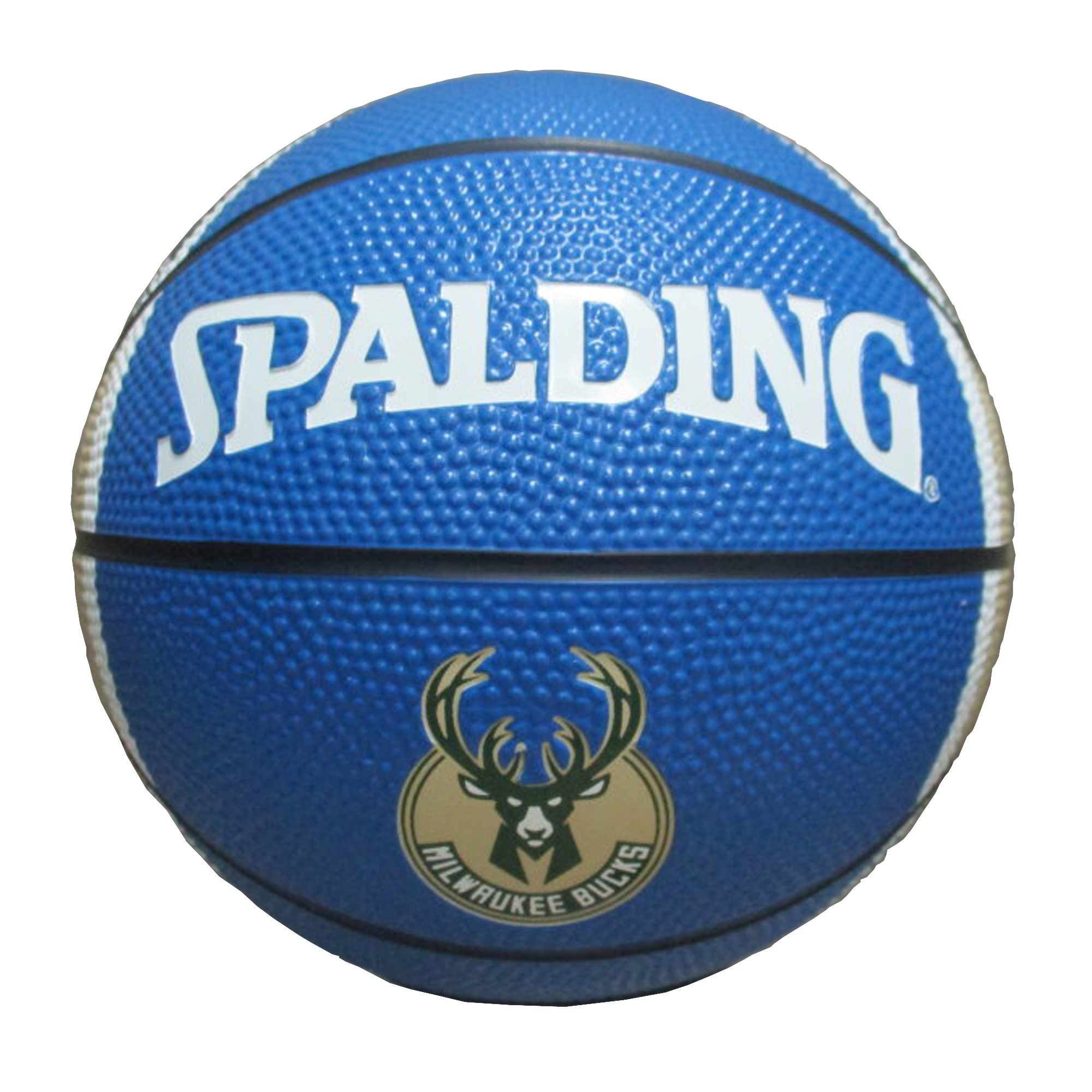 Spaulding - NBA 7 Inch Mini Basketball, Milwaukee Bucks