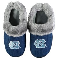 North Carolina Tar Heels Women's Cable Knit Slide Slippers