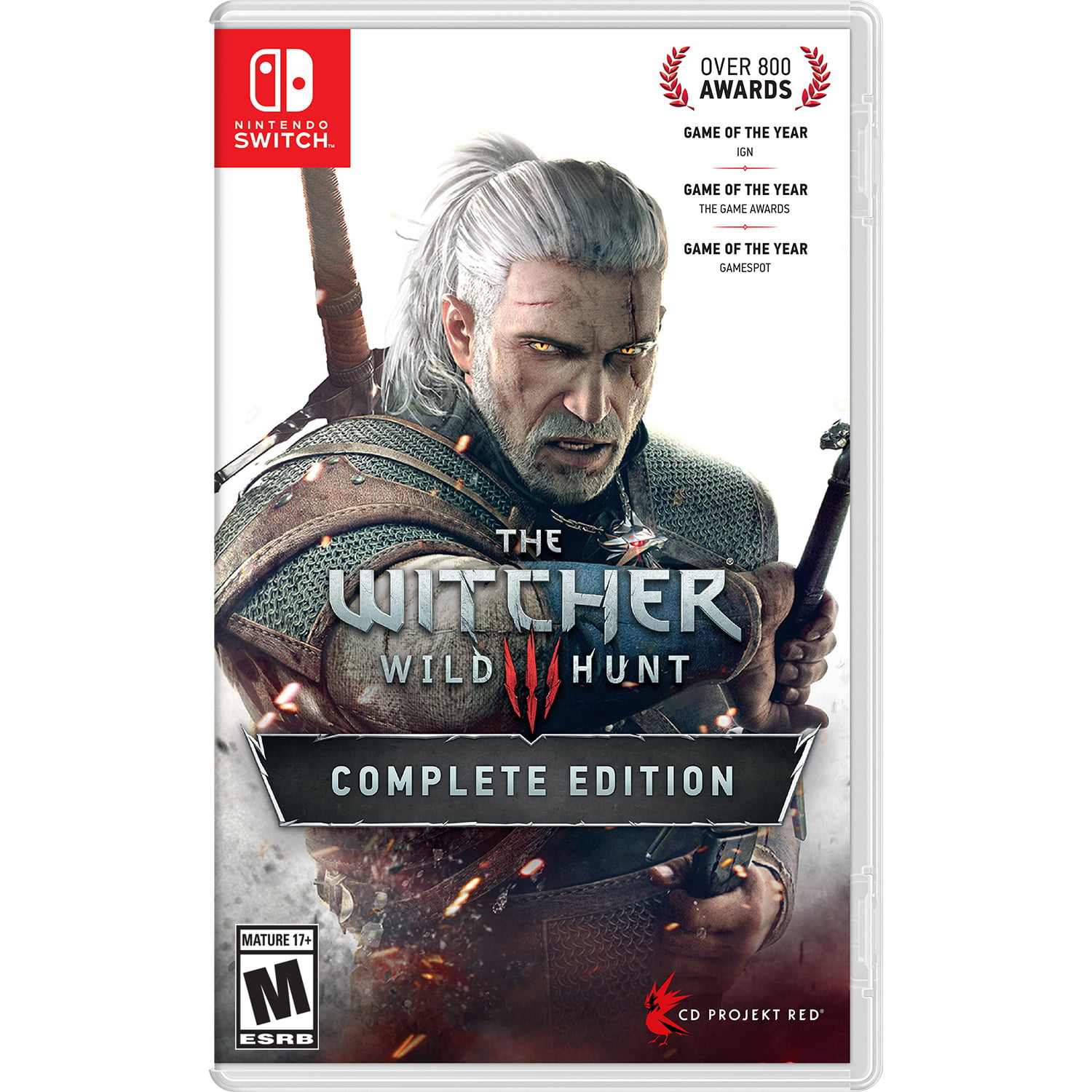 The Witcher III: Wild Hunt: Complete Edition, Warner Home, Nintendo Switch