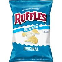 Ruffles Original Potato Chips, Party Size, 13.5 oz Bag