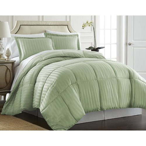 Ebern Designs Cagle Down-Alternative 3 Piece Reversible Comforter Set